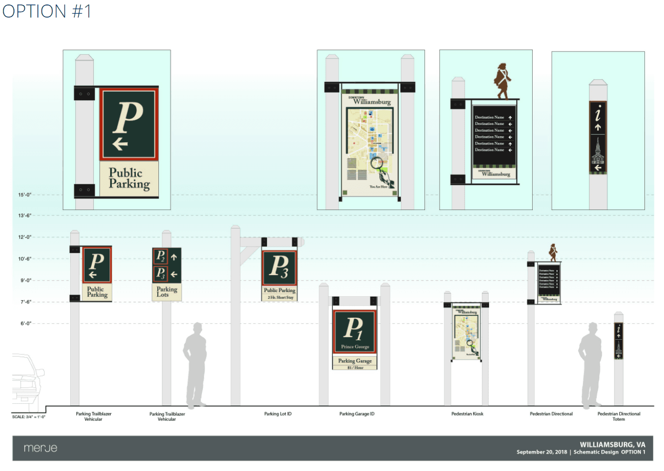 Wayfinding Design Option